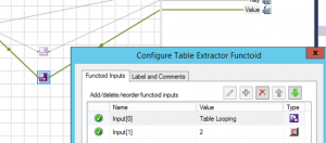Configure Table Extractor functoid