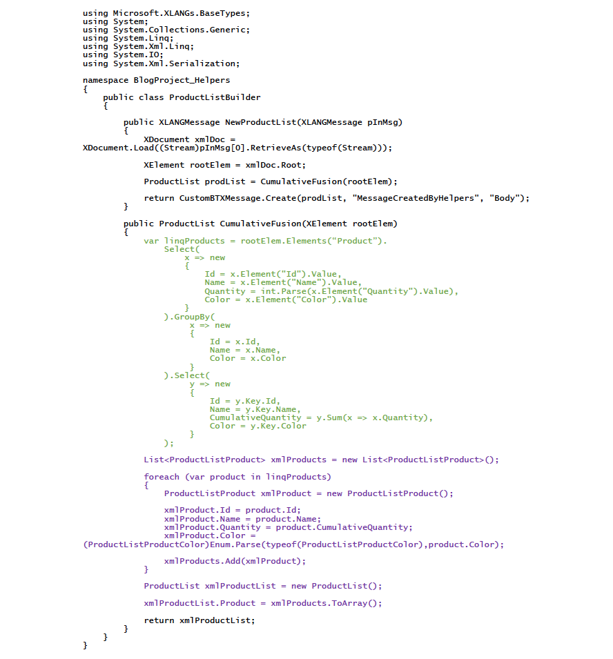 Middleway - Use xsd exe to deal with complex XML messages in