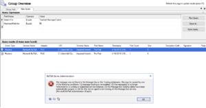biztalk administrator tracking not working