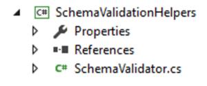 unit test xml schema validateur