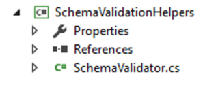 unit test xml schema validator