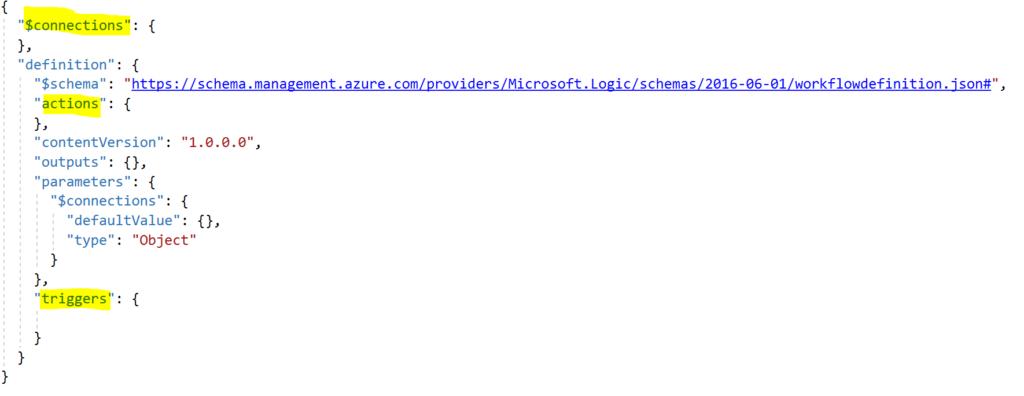 code json logic app