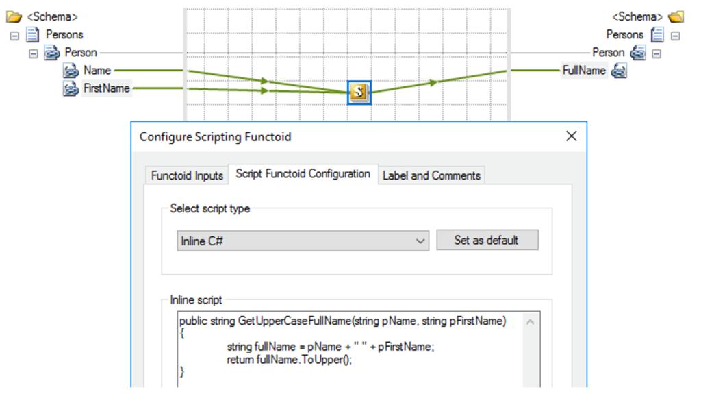 scripting functoid configuration