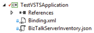 Projet BizTalk Server Application Deployment Binding