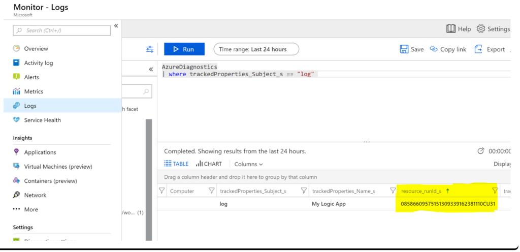 Middleway - Azure monitor Logs: log custom data through