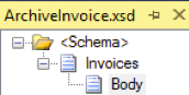Archive Invoice