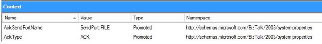 ack BizTalk Server promotion result