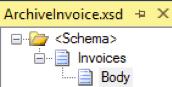 Schéma Archive Invoice