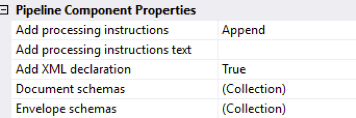 Pipeline properties