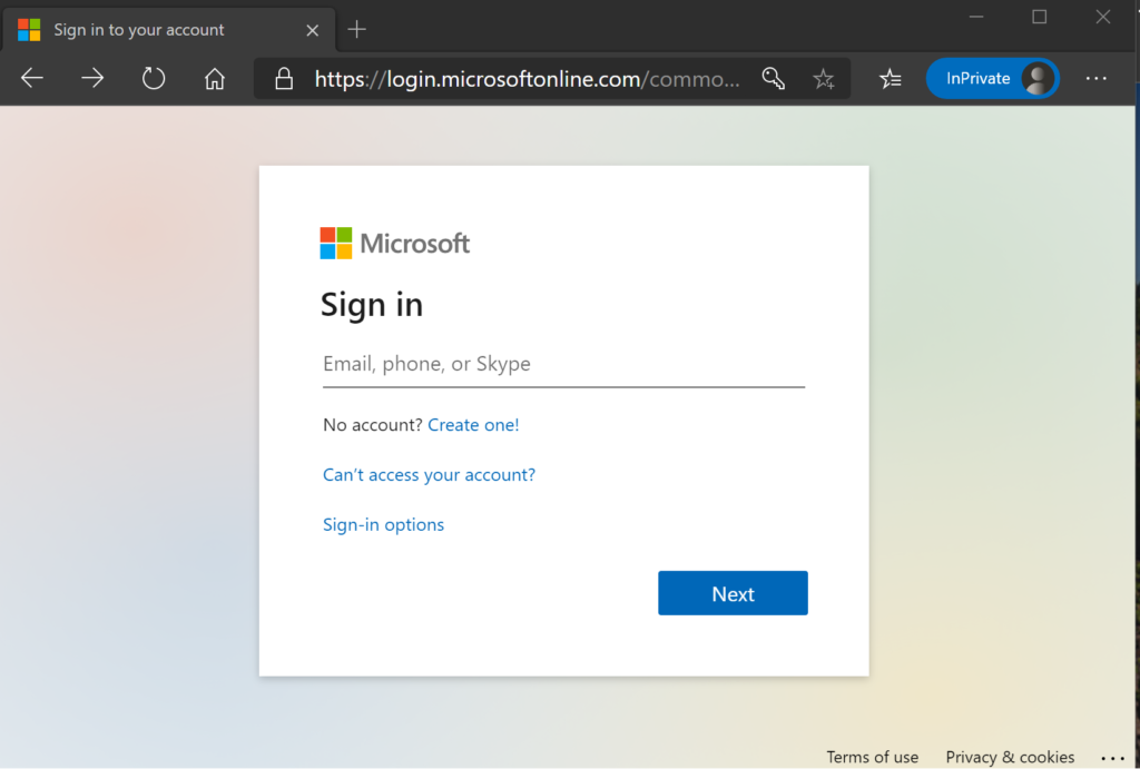 Authenticating when calling Azure Function
