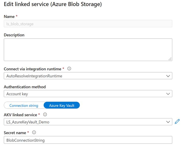 Blob Storage Data Set